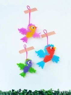 DIY Toy : DIY Flying Bead Birds For Nursery Decor