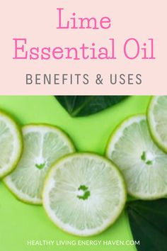 The fresh zesty scent of lime essential oil can be uplifting and energising, especially great when you are feeling tired and need an energy boost. Here are some of the many benefits and uses of lime essential oil. #essentialoilbenefits #essentialoilforenergy