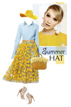 """""""~Top it off: Summer Hats~"""" by amethyst0818 ❤ liked on Polyvore featuring Michael Kors, Charlotte Russe and Fendi"""