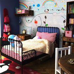Гри дизайн длинный нос садовник стиль росписи нетканые обои для комнаты малыша, принадлежащий категории Обои и относящийся к Обустройство дома на сайте AliExpress.com | Alibaba Group