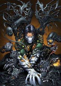 The Darkness artwork by Joe Weems and Sean Ellery (2012)
