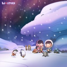 HJ-Story :: Arctic Warmth | Tapastic - image 1