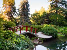 12 Seattle-area gardens to explore this spring Myriad Botanical Gardens, Atlanta Botanical Garden, Missouri Botanical Garden, Seattle Japanese Garden, Japanese Garden Design, Garden Park, Garden Bridge, Overland Park Arboretum, Woodland Park