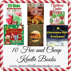 10 Free and cheap Christmas eBooks! Just for you Kindle holiday reading. Best Books Of All Time, Good Books, Cheap Christmas, All Things Christmas, Holiday Ideas, Christmas Ideas, Free Kids Books, Christian Homeschool, Free Homeschool Curriculum