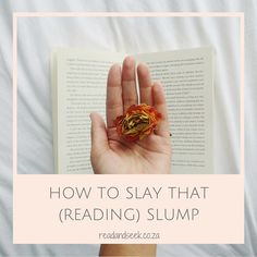 Some tips and tricks to help slay your reading slump so that you can get stuck in a new book as soon as possible. Reading Slump, Slay, Book Worms, New Books, About Me Blog, Advice, My Love, Tips, Counseling