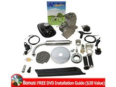 Flying Horse Angle Fire Bicycle Engine Kit - 2 Stroke