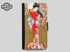 Vintage Art Deco Japanese Geisha Lady Painting by ThePressRelease