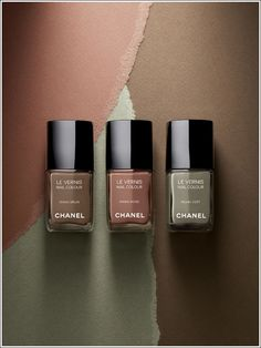 Chanel Les Khakis Nail Polish Collection (2010)