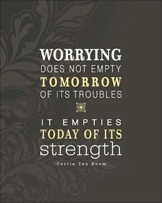 It will all be ok:)
