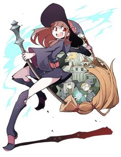 little witch academia cosplay - Google Search