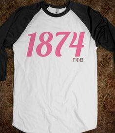 Gamma Phi Beta: 1874