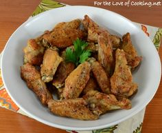 Baked Salt and Pepper Chicken Wings