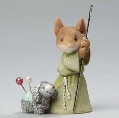 Mouse w/ Shepherd w/ Lamb