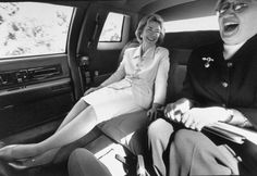 I love the Badass Hillary sunglasses photo, but I also love candid, laughing Hillary shots like this one from 1997
