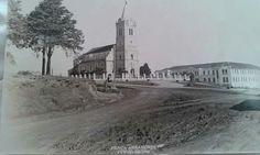 Igreja do Abranches - 1952 (Atrás, o Colégio Vicentino São José)