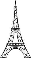 eiffel tower silhouette - Google Search