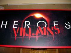 will you be a hero or a villan?