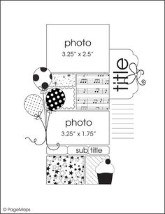 Scrapbook Template Page Maps May 2012 Birthday Scrapbook Layouts, Scrapbook Layout Sketches, Disney Scrapbook, Card Sketches, Scrapbook Albums, Scrapbooking Layouts, Scrapbook Cards, Scrapbook Photos, Scrapbook Patterns
