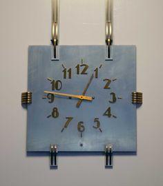 Art deco clock, Seattle Art Museum, Asian branch, Volunteer park.