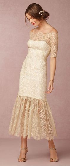 I can visualize using lace to alter a dress I already have and create something similar