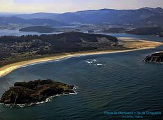 Playa de Morouzos y Ria de Ortigueira