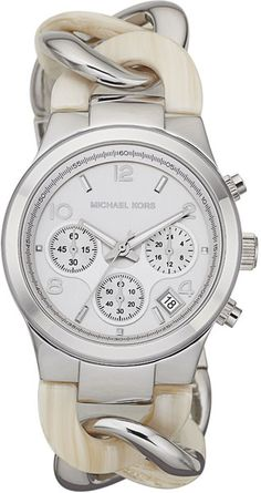 Michael Kors Runway Twist Watch Safari Print