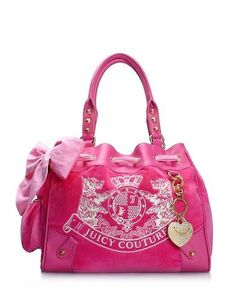 30b9fde512 Juicy Couture | Velour Handbags - New Scottie Embroidery Daydreamer Bag  Best Purses, Cute Purses