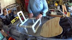 Raised Custom Kayak Seat