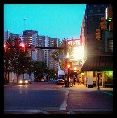 """Another beautiful night in downtown #Kalamazoo @kazoostate"" credit: @dottkov"