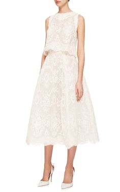 Monique Lhuillier Bridal Look 7 on Moda Operandi