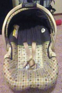 Before Picture of a car seat