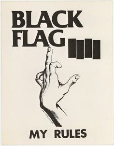 Black Flag artwork - Raymond Pettinbon