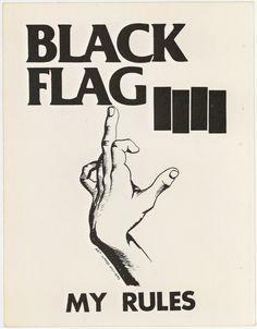 Black Flag artwork - Raymond Pettinbon