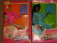 Barbie and Christie from 1980