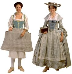 This blog post is a wonderful mini fashion history lesson focusing on Colonial Williamsburg. She has many links to where you can find patterns for authentic costuming. I've always wanted to dress the part and go hang out in Colonial Williamsburg on a frosty winter day! Decor To Adore: Colonial Style ~ Fashions