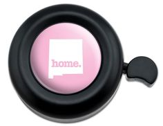 Amazon.com : Cool and Custom {Fully Adjustable to Fit Most Bikes} Bicycle Handlebar Bell Made of Hard Metal with New Mexico Home State Design {Black, Girly Pink and White Colors} : Sports & Outdoors