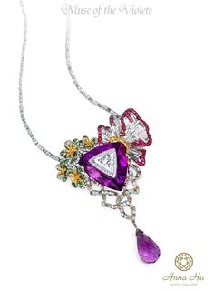 anna hu jewelry | So colorful jewelry really will make this world a woman whom every ...