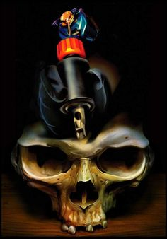 Skull Art by Rob Birchfield