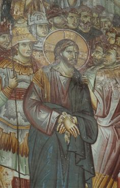 Medieval church or Privlepta, Ohrid, Macedonia Byzantine Icons, Byzantine Art, Life Of Christ, Orthodox Icons, Macedonia, Kirchen, Religious Art, Roman Empire, Medieval