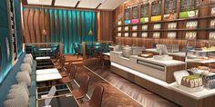 Home Decoration Accessories Coffee Shop Interior Design, Coffee Shop Design, Cafe Design, Restaurant Plan, Restaurant Design, Cafe Floor Plan, Cafeteria Design, Mein Café, Wood Cafe