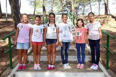Las candidatas infantiles disfrutan de un dia de multiaventura en Calvestra | Ciberfallas