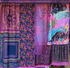 "Babylon Sisters: Bohemian Gypsy Etsy curtains ""Serendipity"""