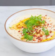 Cumin Spiced Parsnip Soup
