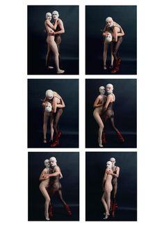 Jurgen Klauke, Masculin Feminin II, 1974.