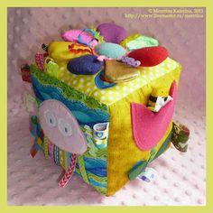 Cubo didactico para bebes