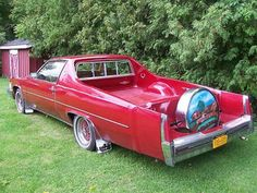 1977 Cadillac Pickup #red
