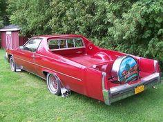 1977 Cadillac Pickup #red