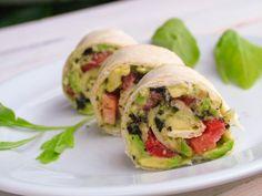 (Tenger) Parti tortilla | Kertkonyha - Vegetáriánus receptek képekkel Superfood, Tacos, Veggies, Mexican, Breakfast, Ethnic Recipes, Morning Coffee, Vegetable Recipes, Morning Breakfast