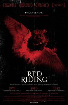 Thr Red Riding Trilogy 1974 (part 1), 1980 (part 2), 1983 (part 3).