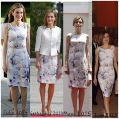 Queen Letizia of Spain Princess Letizia, Queen Letizia, Suits For Women, Blouses For Women, Look 2018, Street Outfit, Western Outfits, Royal Fashion, Look Cool
